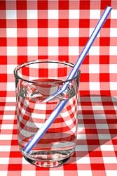 Syrup or Water? Click in the text for answer. Click the picture for enlargement.