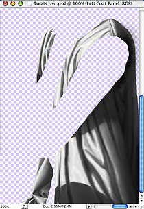 Adding Patterns to Cloth in Photoshop © Copyright Robin Wood