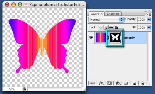 Alpha Channel Discovery tutorial - © Robin Wood 2009