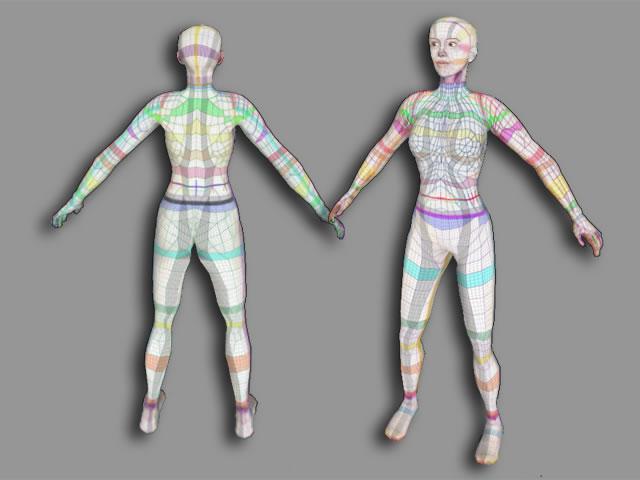 Avatar UV Texture